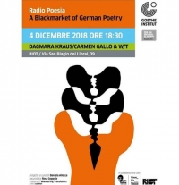 RadioPoesia - a Blackmarket of German Poetry in diretta su Radio Siani